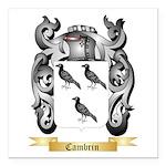 Cambrin Square Car Magnet 3