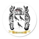 Cambrin Round Car Magnet
