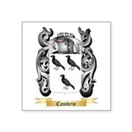 Cambrin Square Sticker 3