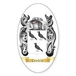Cambrin Sticker (Oval)