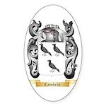 Cambrin Sticker (Oval 50 pk)