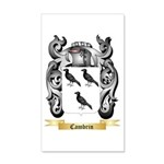 Cambrin 20x12 Wall Decal