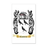 Cambrin 35x21 Wall Decal