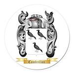 Cambrillon Round Car Magnet
