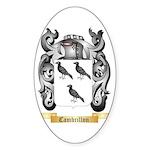 Cambrillon Sticker (Oval 50 pk)