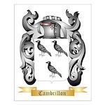 Cambrillon Small Poster