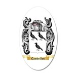 Cambrillon 20x12 Oval Wall Decal