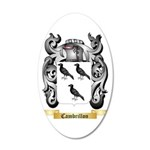 Cambrillon 35x21 Oval Wall Decal