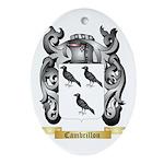 Cambrillon Ornament (Oval)