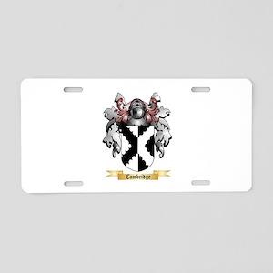 Cambridge Aluminum License Plate