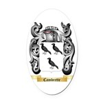 Cambrette Oval Car Magnet
