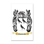 Cambrette Rectangle Car Magnet