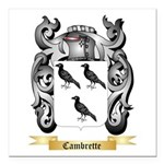 Cambrette Square Car Magnet 3