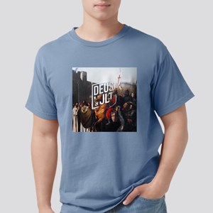 DEUS VULT - EDESSA Mens Comfort Colors Shirt