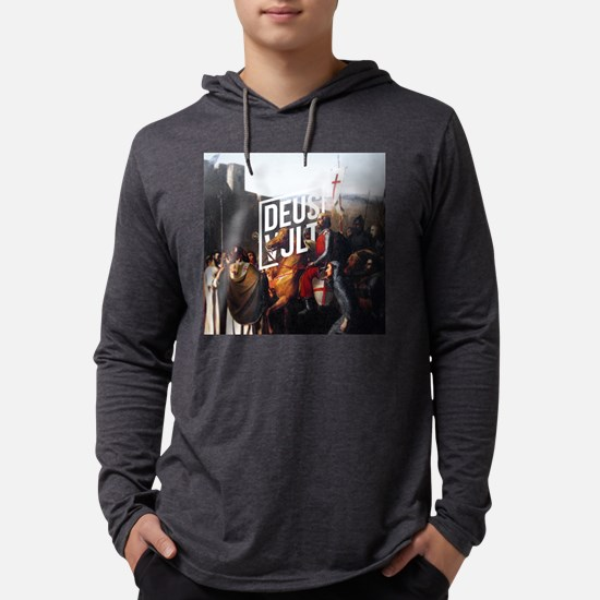 DEUS VULT - EDESSA Mens Hooded Shirt