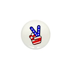 PeaceHand Mini Button (100 pack)