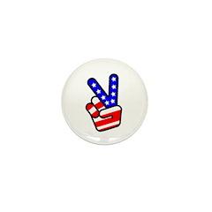 PeaceHand Mini Button (10 pack)
