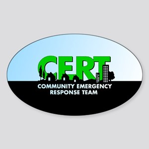 Cert Sticker (oval 50 Pk)