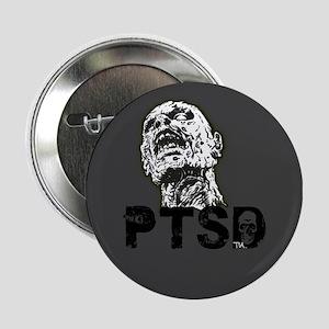 """zombie has PTSD 2.25"""" Button"""