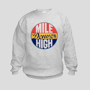Denver Vintage Label Kids Sweatshirt