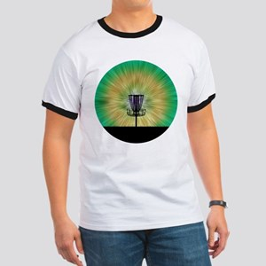 Tie Dye Disc Golf Basket T-Shirt