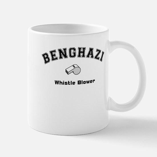 Benghazi Whistle Blower Mug