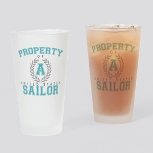 Property of a U.S. Sailor Pint Glass