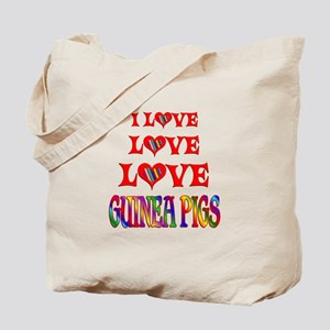 Love Love Guinea Pigs Tote Bag