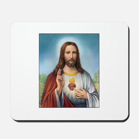 Sacred Heart of Jesus Mousepad
