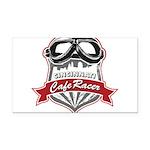 CCR_Logo_Transparent Rectangle Car Magnet