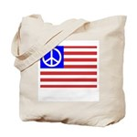 PeaceFlag Tote Bag