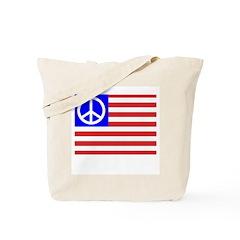 PeaceFlag Tote Bag