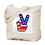 PeaceHand Tote Bag