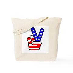 PeaceHand Tote Bag