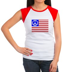 PeaceFlag Women's Cap Sleeve T-Shirt