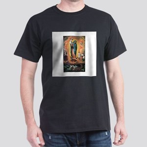 Guadalupe Defending the Child Dark T-Shirt