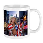 Naked Cowgirl of Times Square Mug