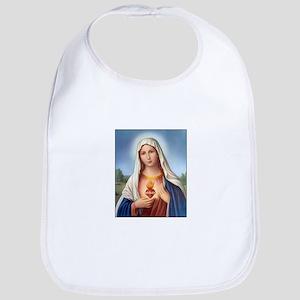 Immaculate Heart of Mary Bib