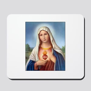 Immaculate Heart of Mary Mousepad