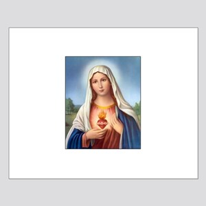 Immaculate Heart of Mary Small Poster