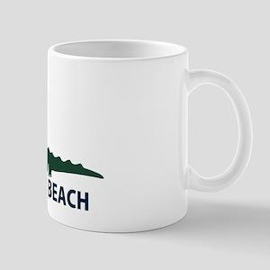 Naples Beach - Alligator Design. Mug