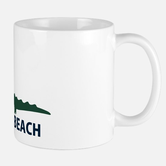Naples Beach - Alligator Design. Mug