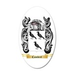 Cambret 20x12 Oval Wall Decal