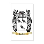Cambret 20x12 Wall Decal