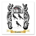 Cambre Square Car Magnet 3