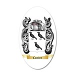 Cambre 20x12 Oval Wall Decal