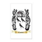 Cambre 20x12 Wall Decal