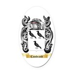 Cambrand Oval Car Magnet