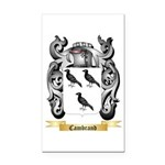 Cambrand Rectangle Car Magnet