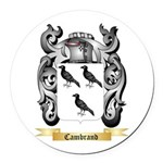 Cambrand Round Car Magnet